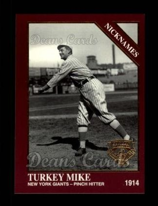 1994 Conlon Burgundy #1051   -  Mike Donlin Nicknames