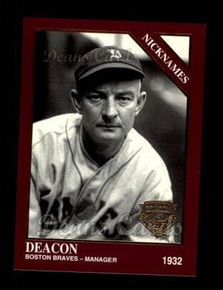 1994 Conlon Burgundy #1066   -  Bill McKechnie Nicknames