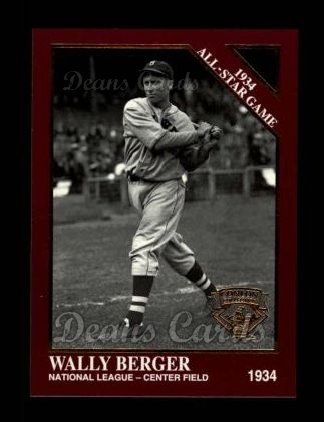 1994 Conlon Burgundy #1098   -  Wally Berger 1934 All-Star Game