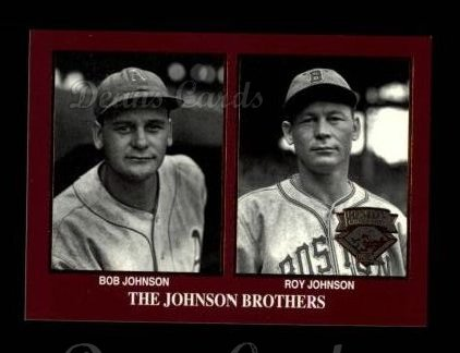 1994 Conlon Burgundy #1173   -  Bob Johnson / Roy Johnson Brothers