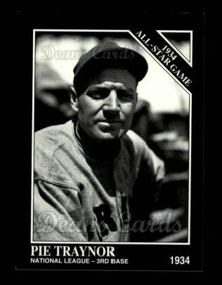 1994 Conlon #1093   -  Pie Traynor 1934 All-Star Game