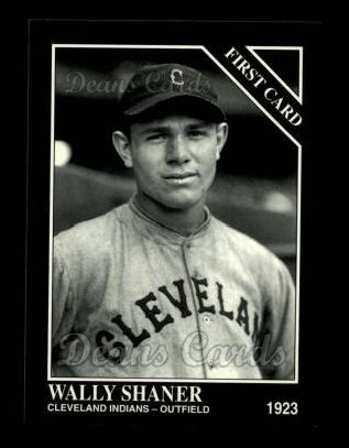 1994 Conlon #1292   -  Wally Shaner First Card