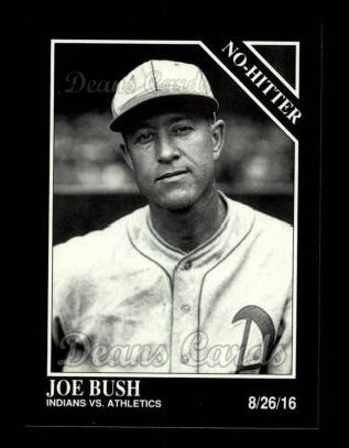 1992 Conlon #345   -  Joe Bush No-Hitter
