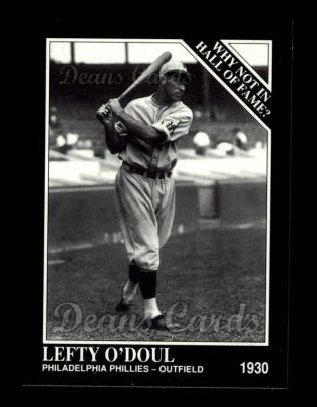 1992 Conlon #447   -  Lefty O'Doul Why Not in the Hall of Fame?