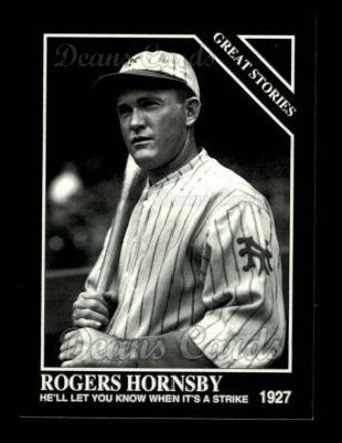 1993 Conlon #766   -  Rogers Hornsby Great Stories