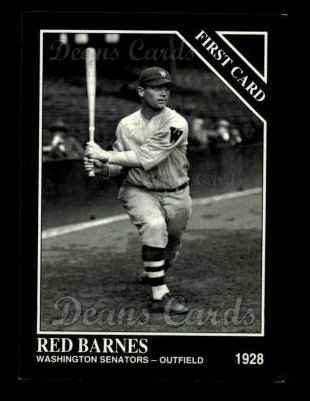 1993 Conlon #984   -  Red Barnes First Cards