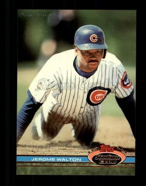 1991 Topps Stadium Club #162  Jerome Walton