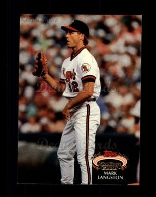 1992 Topps Stadium Club #670  Mark Langston