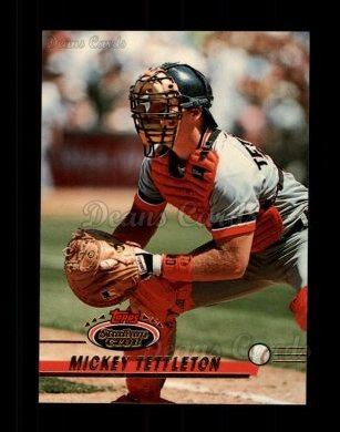 1993 Topps Stadium Club #31  Mickey Tettleton