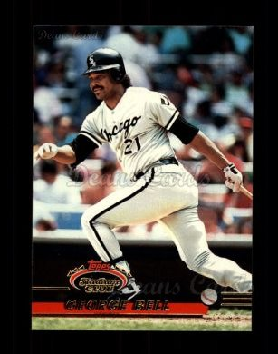 1993 Topps Stadium Club #330  George Bell