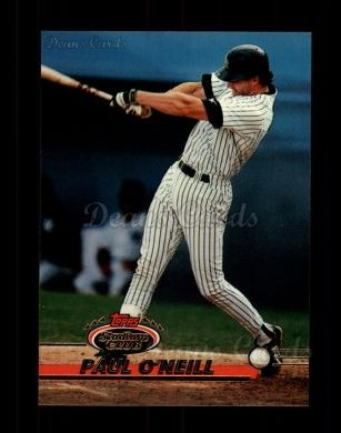 1993 Topps Stadium Club #717  Paul O'Neill