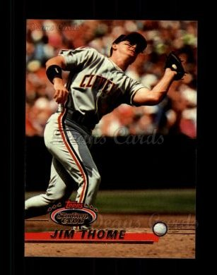 1993 Topps Stadium Club #8  Jim Thome