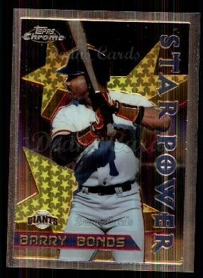 1996 Topps Chrome #10  Barry Bonds
