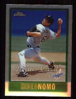 1997 Topps Chrome #156  Hideo Nomo