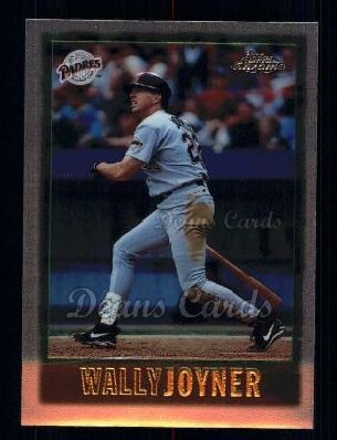 1997 Topps Chrome #50  Wally Joyner