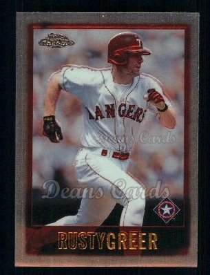 1997 Topps Chrome #6  Rusty Greer
