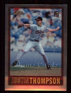 1997 Topps Chrome #65  Justin Thompson