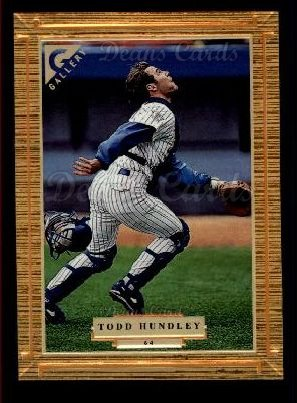 1997 Topps Gallery #64  Todd Hundley