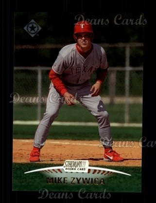1999 Topps Stadium Club #142  Mike Zywica