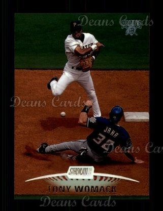 1999 Topps Stadium Club #90  Tony Womack