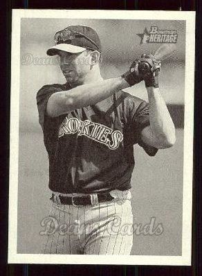 2001 Bowman Heritage #78  Todd Helton