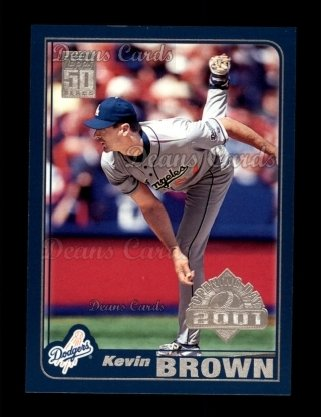 2001 Topps Opening Day #126  Kevin Brown