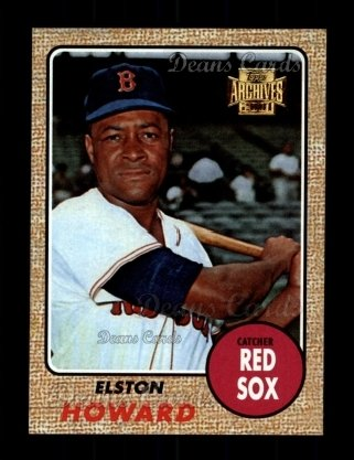 2001 Topps Archives #144   -  Elston Howard 68 Topps