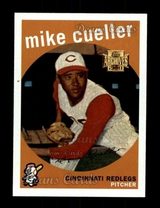 2001 Topps Archives #255   -  Mike Cuellar 59 Topps