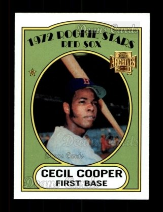 2001 Topps Archives #289   -  Cecil Cooper 72 Topps