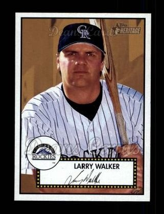 2001 Topps Heritage #197  Larry Walker
