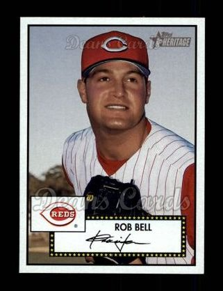 2001 Topps Heritage #331  Rob Bell