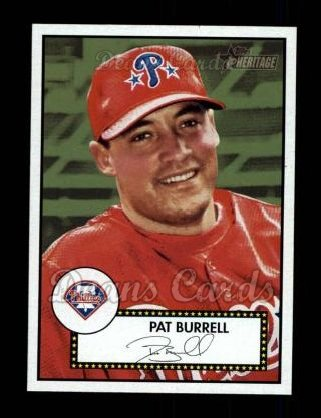 2001 Topps Heritage #364  Pat Burrell