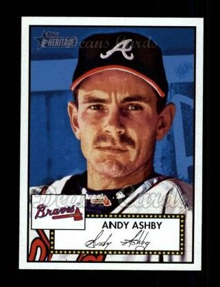 2001 Topps Heritage #40 RED Andy Ashby