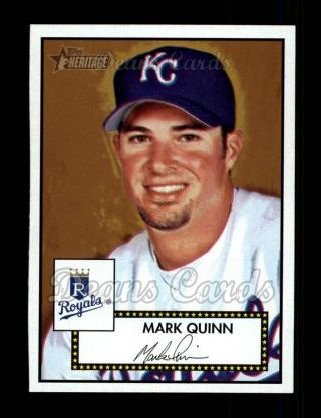 2001 Topps Heritage #44 RED Mark Quinn