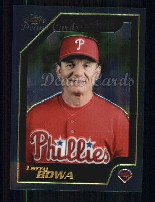 2001 Topps Traded Chrome #146 T Larry Bowa