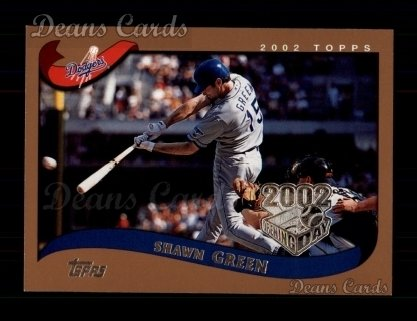 2002 Topps Opening Day #116  Shawn Green