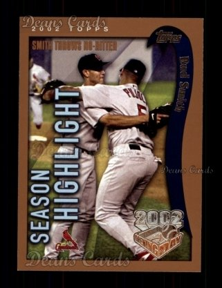 2002 Topps Opening Day #162   -  Bud Smith  Highlights