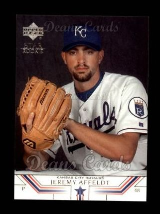 2002 Upper Deck #14   -  Jeremy Affeldt Star Rookie