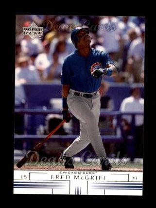 2002 Upper Deck #306  Fred McGriff