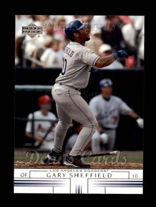2002 Upper Deck #329  Gary Sheffield