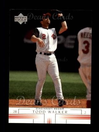 2002 Upper Deck #447  Todd Walker