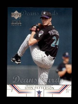 2002 Upper Deck #7   -  John Patterson Star Rookie