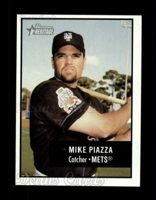 2003 Bowman Heritage #157  Mike Piazza