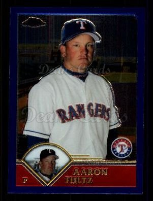 2003 Topps Chrome Traded #105 T Aaron Fultz