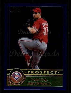 2003 Topps Chrome Traded #135 T  -  Taylor Buchholz Prospect