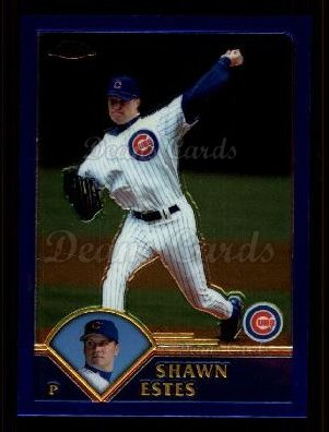 2003 Topps Chrome Traded #14 T Shawn Estes