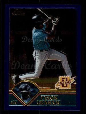 2003 Topps Chrome Traded #251 T  -  Tyson Graham First Year