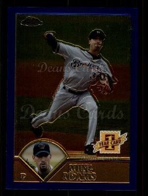2003 Topps Chrome Traded #264 T  -  Mike Adams First Year
