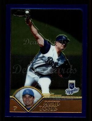 2003 Topps Chrome Traded #58 T Albie Lopez