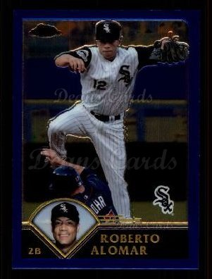 2003 Topps Chrome Traded #59 T Roberto Alomar